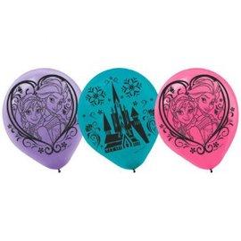 ©Disney Frozen Printed Latex Balloons 6ct