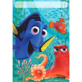 ©Disney/Pixar Finding Dory Folded Loot Bag 8ct- Clearance