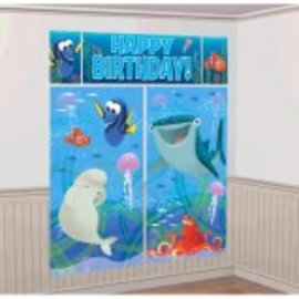 ©Disney/Pixar Finding Dory Scene Setter Wall Decorating Kit- Clearance