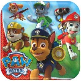 "Paw Patrol™ Square Plate, 9"" 8ct."