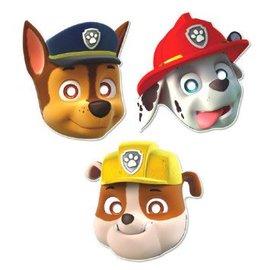 Paw Patrol™ Paper Masks 8ct.