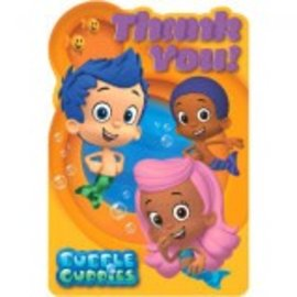 Bubble Guppies Postcard Thank You Cards 8ct - Clearance