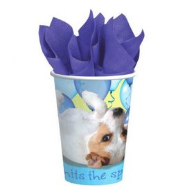 Party Pups Cups, 8ct 9oz.-8ct