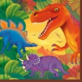 Prehistoric Dinosaurs Luncheon Napkins-16 ct