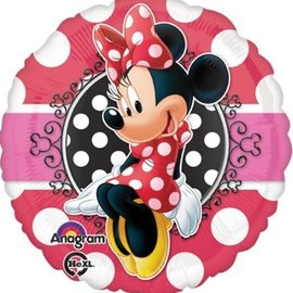 """Minnie Portrait Balloon, 18"""""""