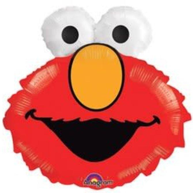 "Elmo Head Balloon, 20"""