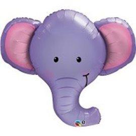 "Ellie the Elephant Balloon, 39"""