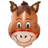 Hilarious Horse Balloon, 32""