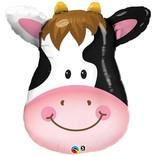 """Contented Cow Balloon, 32"""""""