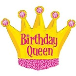 Birthday Queen Balloon, 36""