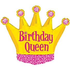 "Birthday Queen Balloon, 36"""