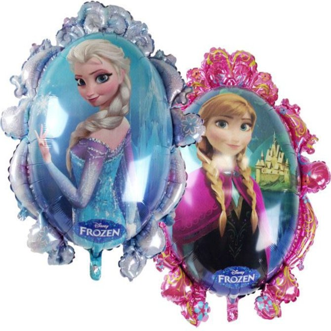 Disney Frozen Princesses Balloon, 31""