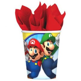 Super Mario Brothers™ Cups, 9 oz. 8ct.