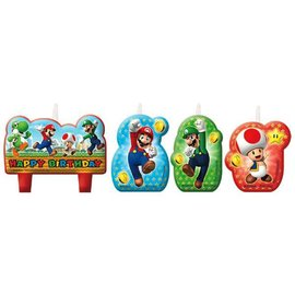 Super Mario Brothers™ Birthday Candle Set