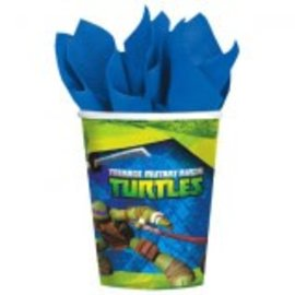 TMNT™ Cups, 9 oz.-8ct - Clearance