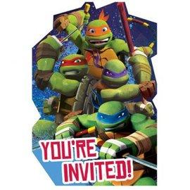 TMNT™ Invites 8ct.