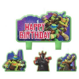 TMNT™ Mini Molded Cake Candles - Clearance