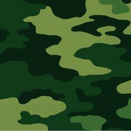 Camouflage Luncheon Napkins 16ct.