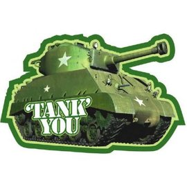 Thank You Camouflage Party,  8 count