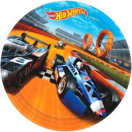 "Hot Wheels Wild Racer™ Round Plates, 9"" 8ct."