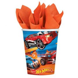 CUP 9 OZ HOT WHEELS WILD RACER 8ct.