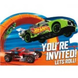 Hot Wheels Wild Racer™ Postcard Invitations 8CT