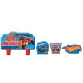 Hot Wheels Wild Racer™ Birthday Candle Set