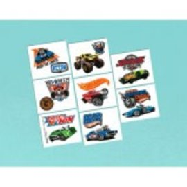 Tattoos Hot Wheels Wild Racer 16Ct