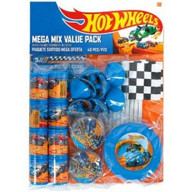 MEGA MIX HOT WHEELS WILD RACER 48 piece