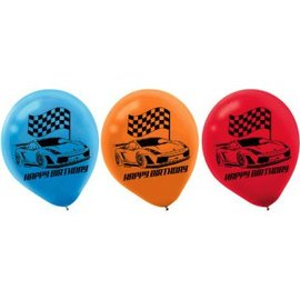 Hot Wheels Wild Racer™ Printed Latex Balloons 6 count