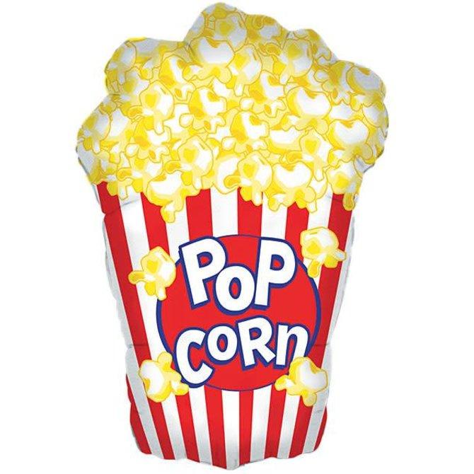 """Popcorn Balloon, 38"""""""
