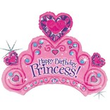 Happy Birthday Princess Balloon, 34""