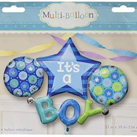 "It's a Boy Balloon, 53""x39"" (#186)"
