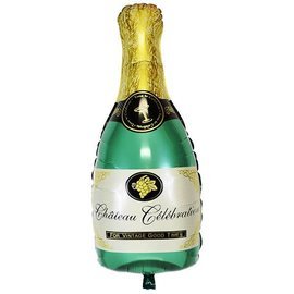 "Champagne Bottle Balloon, 36"" (#209)"