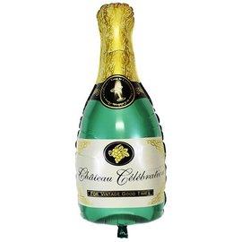 "Champagne Bottle Balloon, 36"""