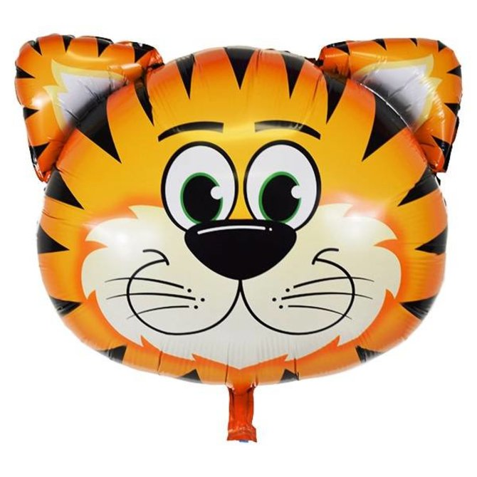 """Tickled Tiger Balloon, 30"""""""