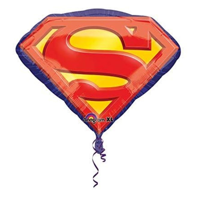 """Superman Emblem Balloon, 26"""""""