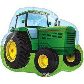 """Farm Tractor Balloon, 34"""" (#213)"""