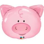 """Playful Pig Balloon, 30"""""""