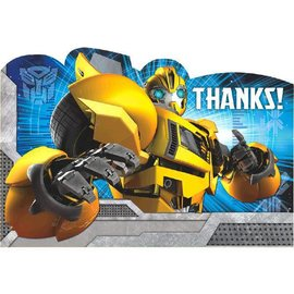Transformers™ Postcard Thank You Cards