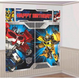 Transformers™ Scene Setters® Wall Dec. Kit