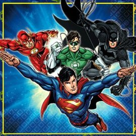 Justice League™ Luncheon Napkins 16ct.