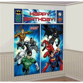 Justice League™ Scene Setters® Wall Decorating Kit