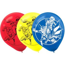 Justice League™ Latex Balloons 6ct