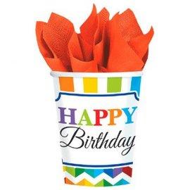 Bright Birthday 9 oz. Cups, 8ct
