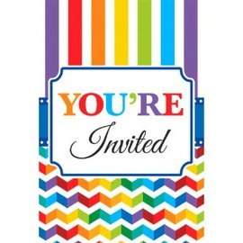 Bright Birthday Value Pack Postcard Invitations, 20ct