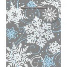 Whimsical Snowflake ‑ Small Vertical Bag