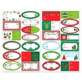 Holiday Adhesive Labels-156ct