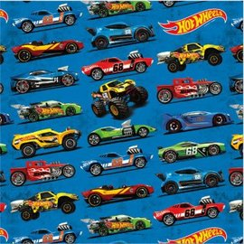 HOT WHEELS WILD RACER gift wrap