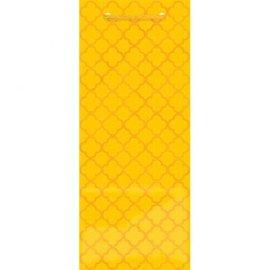 Printed Glossy - Sunshine Yellow Bottle Bag